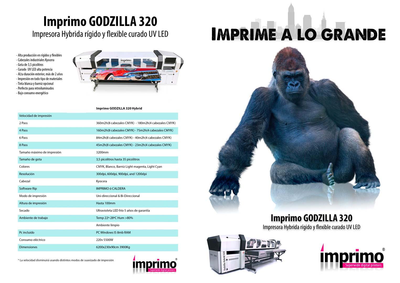 Catálogo Godzilla
