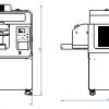 medidas de la impresora textil directa