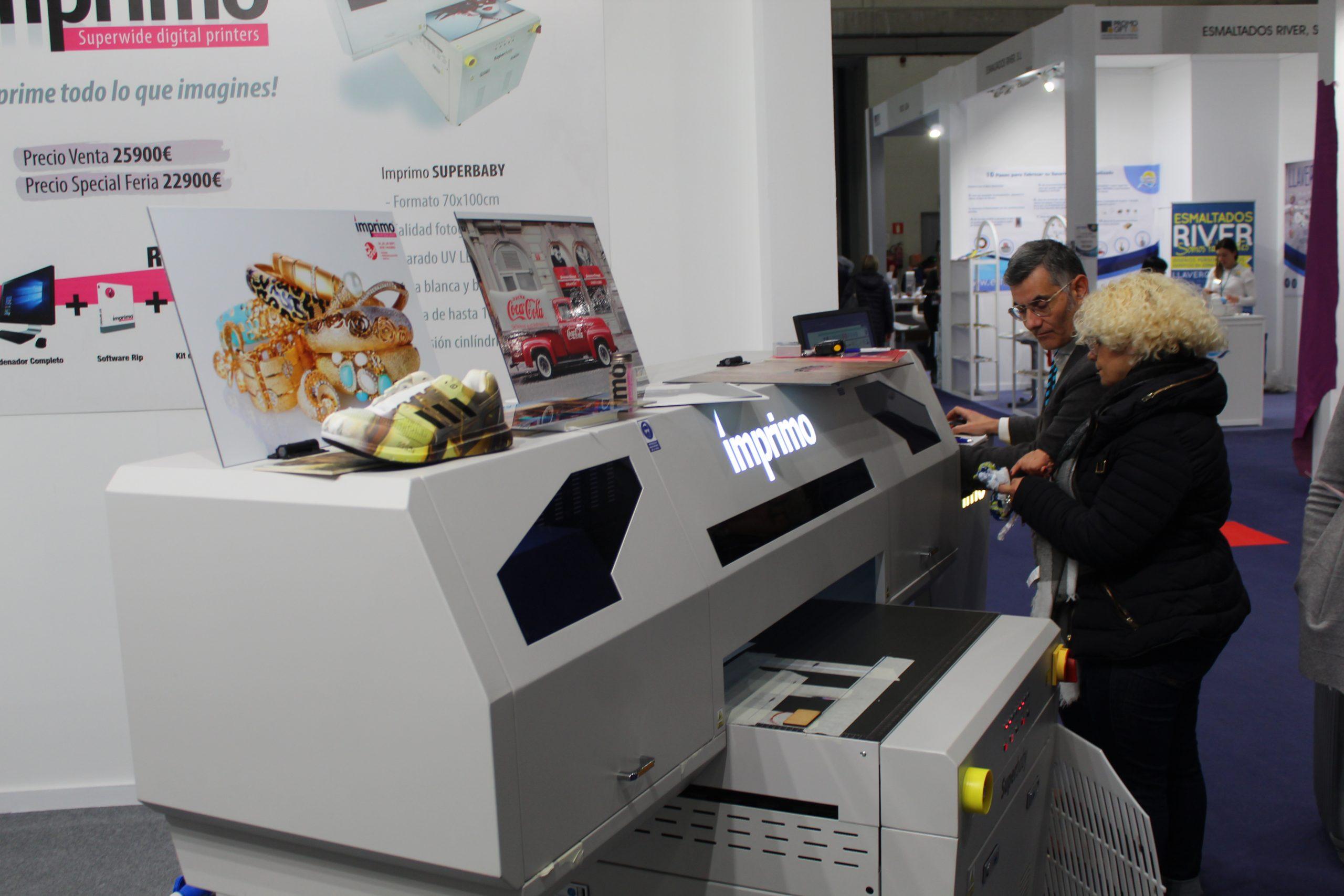 Funcionamiento de la impresora Superbaby de Imprimo