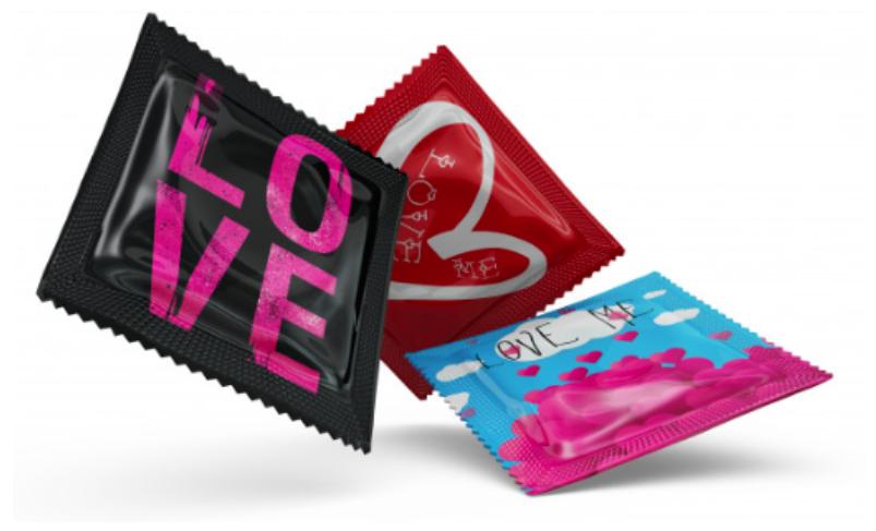 Personalización de preservativos