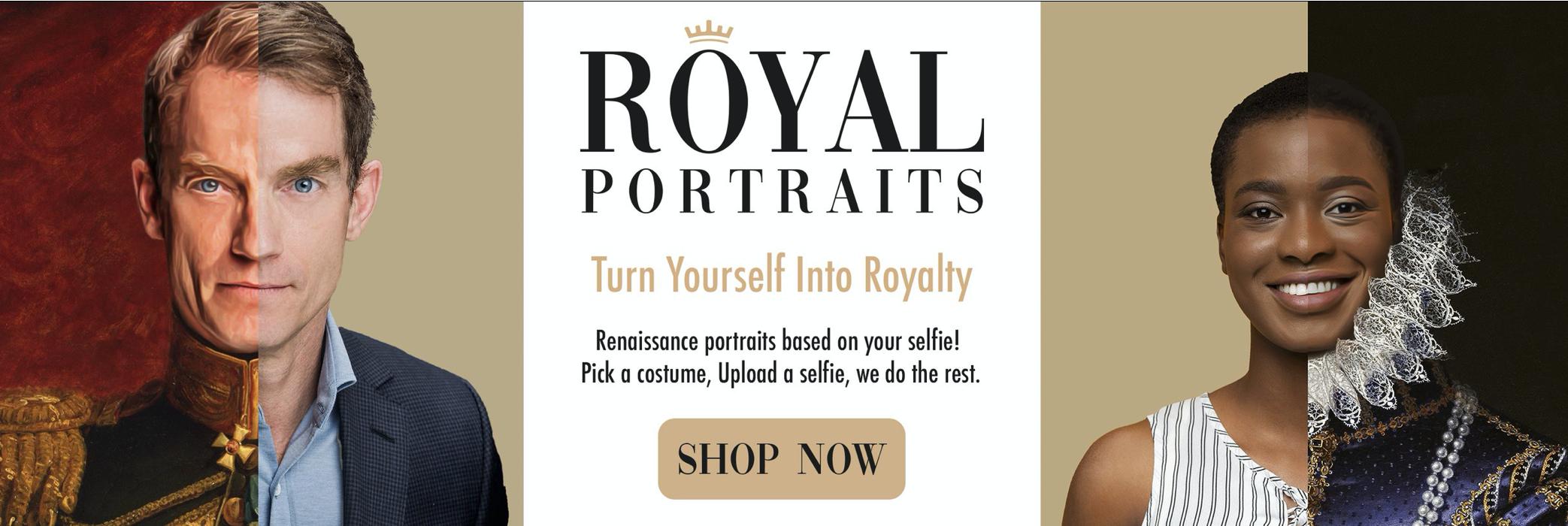 personaliza tus fotos convirtiéndolas en retratos históricos