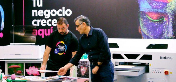 Presentación de Imprimo Minibaby en el Bprint Show 2021