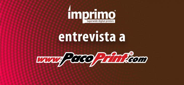 "Paco Print System: ""Vuestras impresoras UV LED son realmente competitivas"""